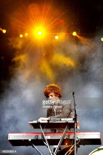 Dot Major of London Grammar performs on day 2 of the Parklife Weekender Festival at Heaton Park on June 8 2014 in Manchester England