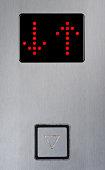 Dot-matrix elevator floor