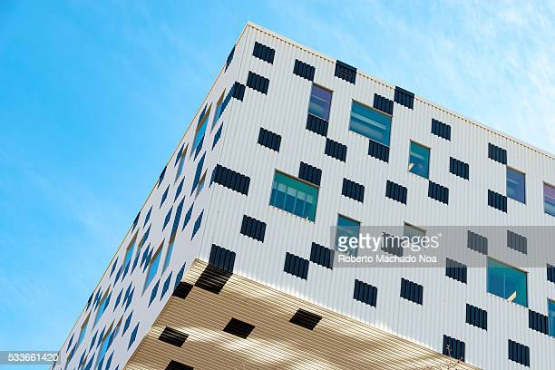 OCAD dotted building section The Ontario College of Art and Design is a public university whose design reflects a drawing color pencils box