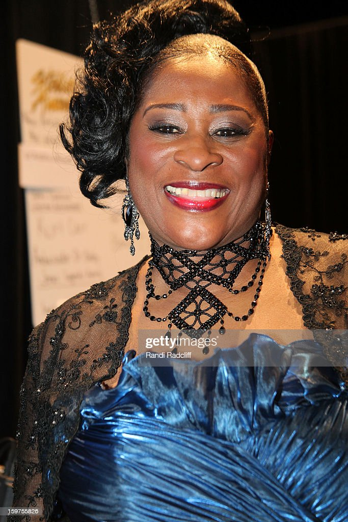 Dottie Peoples attends the 28th Annual Stellar Awards Press Room at Grand Ole Opry House on January 19, 2013 in Nashville, Tennessee.