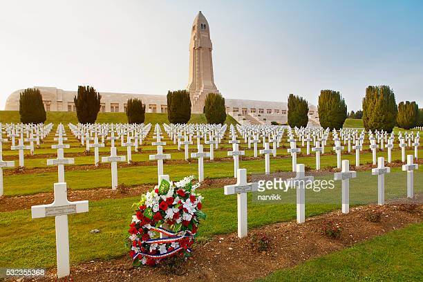 Douaumont Ossuary memorial and cemetery in Verdun