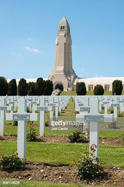 Douaumont ossuary near Verdun, France