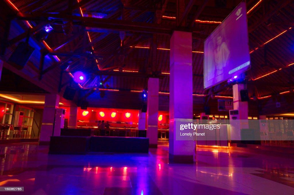Double 66 nightclub. : Stock Photo