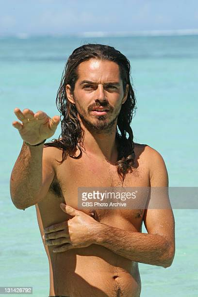 'Double Agent' Ozzy Lusth during the eighth episode of SURVIVOR SOUTH PACIFIC Wednesday Nov 2 on the CBS Television Network
