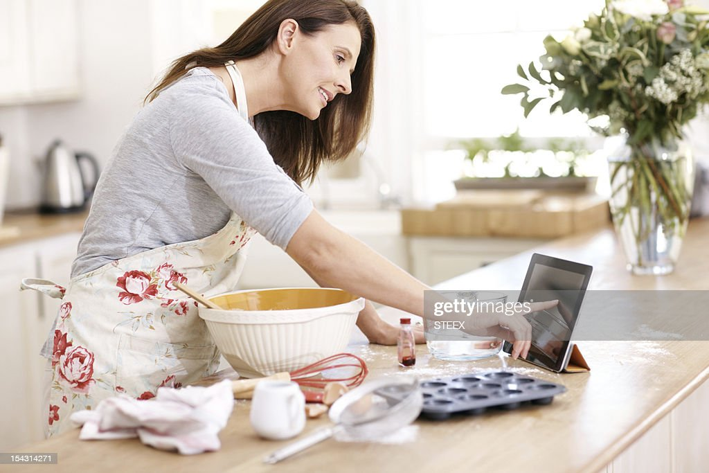 Double checking her method online
