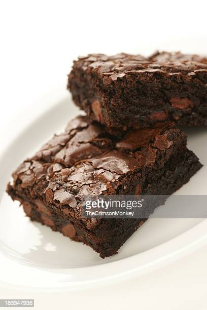 Double Dark Chocolate Brownies