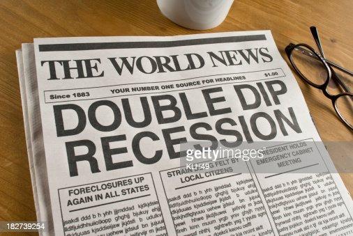 Pasta recessão dupla