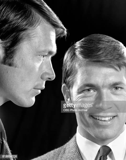 A double exposure of Chad Everett portrays Dr Joe Gannon in the CBS television series Medical Center May 1 1969 Los Angeles CA