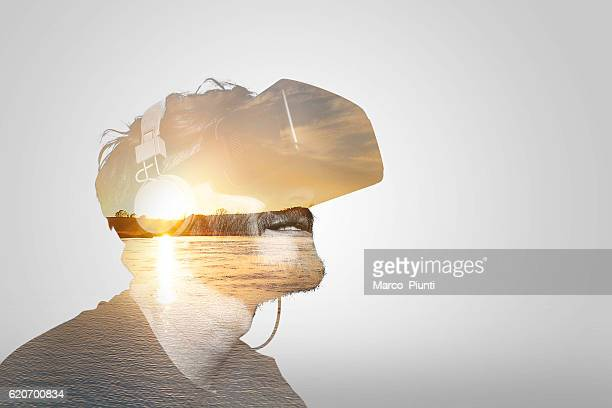 Double Exposure Virtual Reality