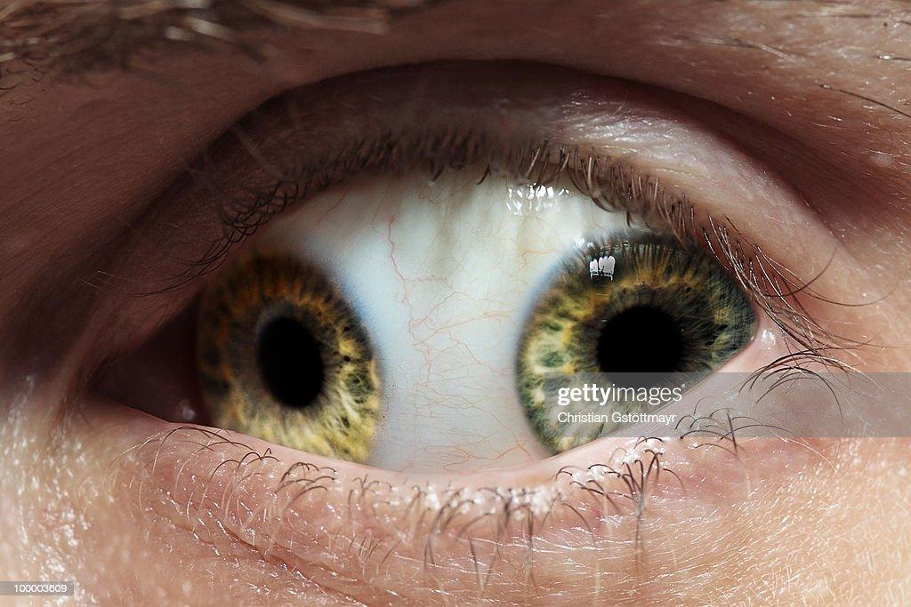 Double Eye : Stock Photo