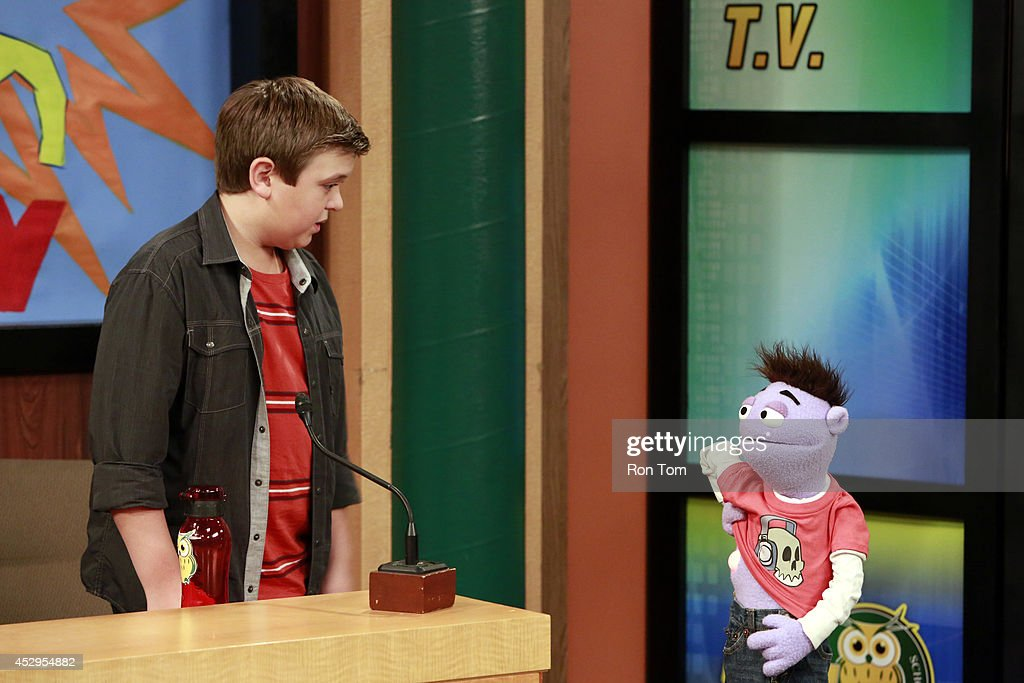 CRASH & BERNSTEIN - 'Double Header' - Wyatt and Crash get an opportunity to host a trial show on the school's television network. Desperate to try and increase ratings for their new show, 'The Wyatt and Crash Show,' they are forced to pursue some wacky ideas. This episode of 'Crash & Bernstein' will air Monday, August 18 (8:30 PM - 9:00 PM ET/PT), on Disney XD.