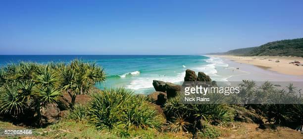Double Island Point on Australia's Sunshine Coast