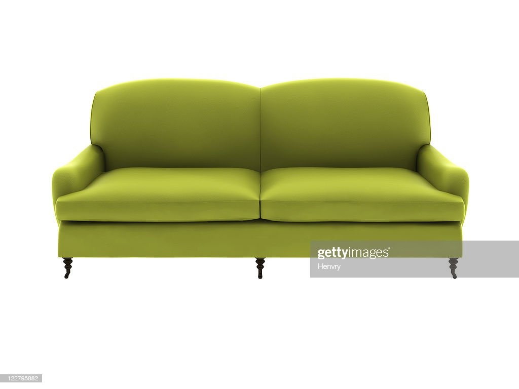 double  leather sofa