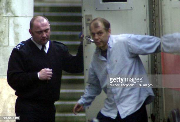 Double murderer Michael Stone arrives at the Court of Appeal in London to challenge his convictions Stone answered only to his name as the...