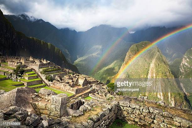 Double Rainbow at Machu Picchu