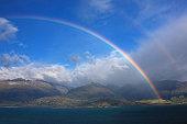 Double Rainbow Over Lake Wanaka