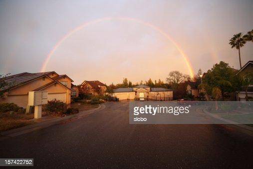 Double Rainbow Over My Neighborhood