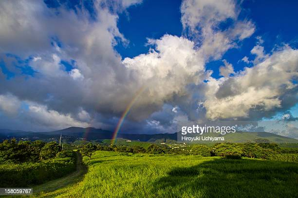 double rainbow over the hill #1