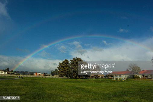 Double Rainbow : Stock Photo