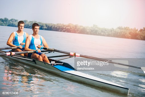Double scull rowing