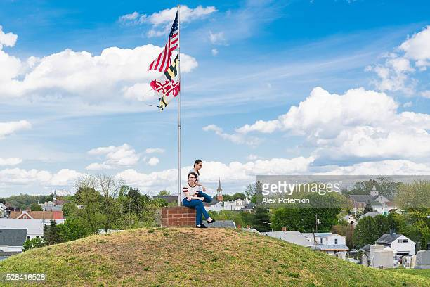Doubleday Hill - Civil War's national monument, Williamsport, Maryland, USA