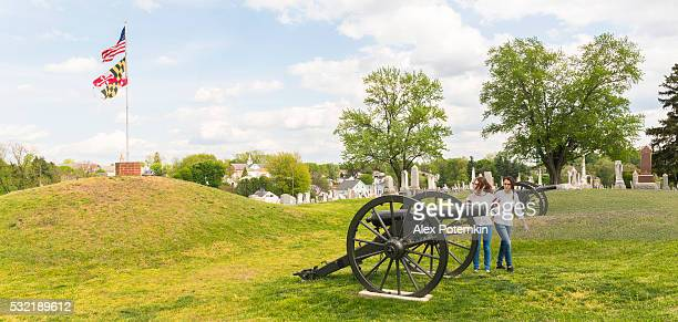 Doubleday Hill-guerra civile il monumento nazionale, Williamsport, Maryland, Stati Uniti