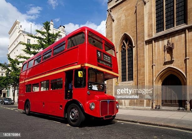 Double-Decker Bus In London