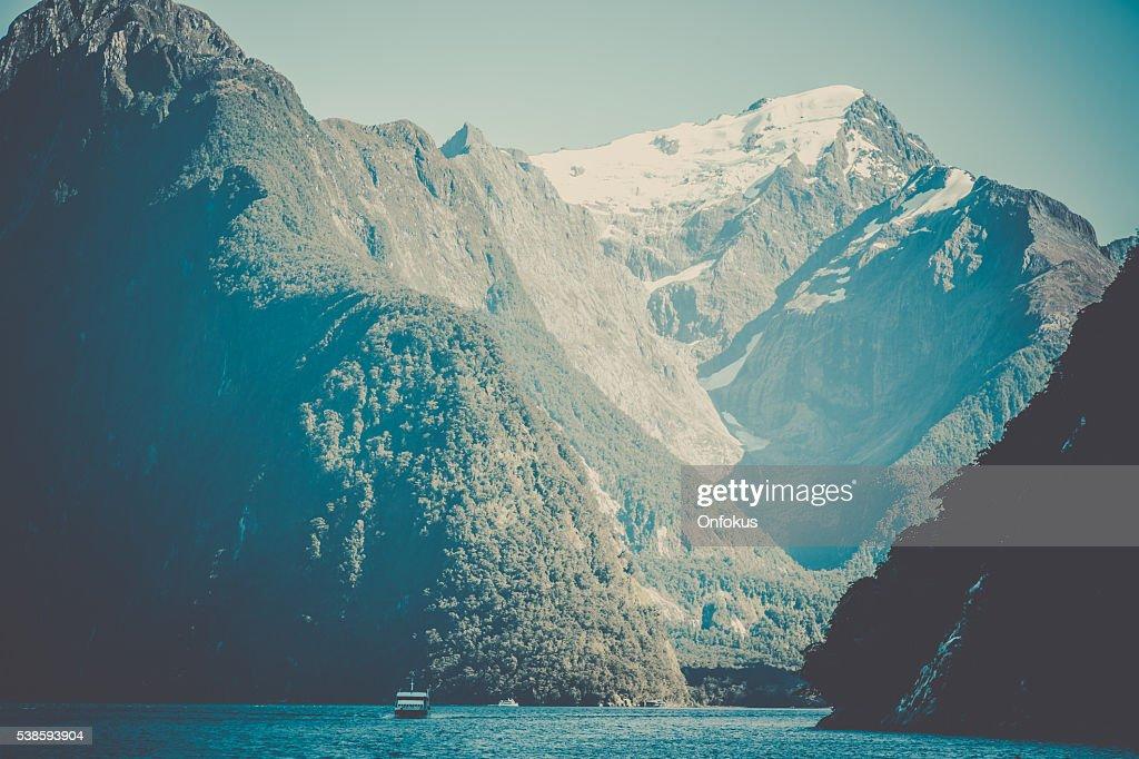 Doubtful Sound Landscape, South Island, New Zealand