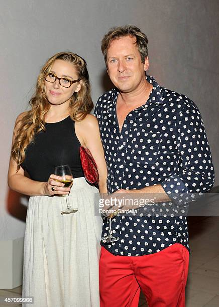 Doug Aitken and Carmen Ellis attend the Hammer Museum's 12th annual Gala in the Garden with generous support from Bottega Veneta at the Hammer Museum...