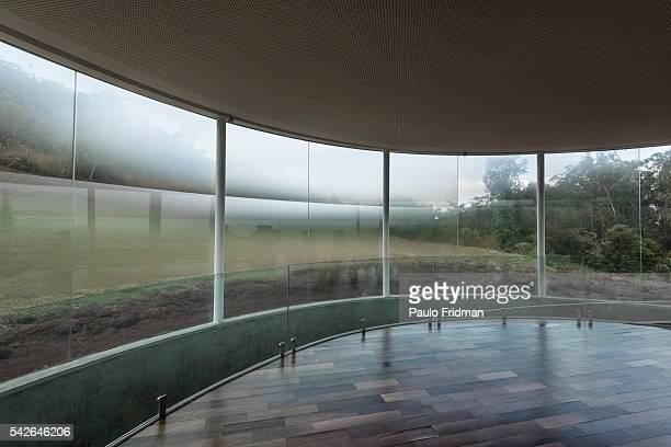 Doug Aitken's work at Inhotim Contemporary Art Institute on September 7th in Brumadinho Minas Gerais Brazil