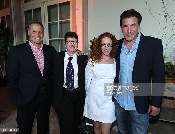 Doug Barr Maura Dunbar Elizabeth Yost and Billy Baldwin attend the Hallmark Channel Hallmark Movie Channel's 2014 Summer TCA Party on July 8 2014 in...