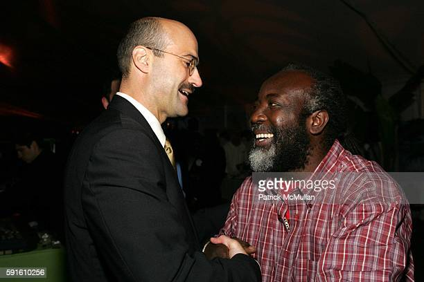 Doug Blonsky and Freddie McGregor attend A Magical Evening with New York's Finest Chefs at 'Taste of Summer' A Benefit for the Central Park...