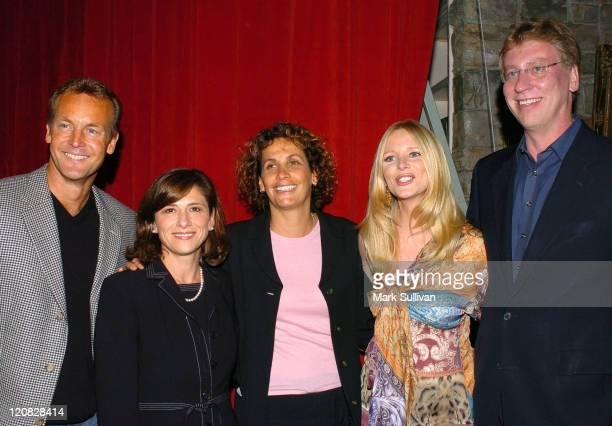 Doug Davidson Nina Tassler president CBS Entertainment Barbara Bloom sr vp daytime programs CBS Entertainment Lauralee Bell and Steve Kent executive...
