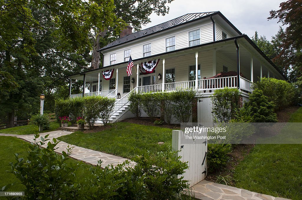 Doug DeLuca's home Langley Ordinary that was once a meeting house a hospital and the headquarters for a Civil War General is photographed Monday June...