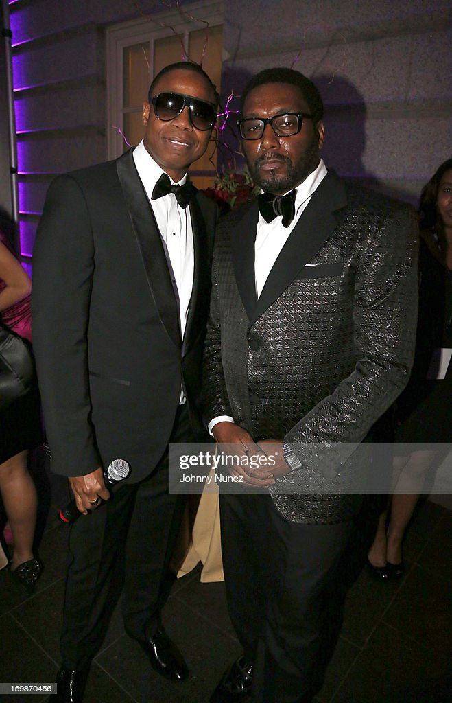 Doug E. Fresh and Big Daddy Kane perform at the 2013 BET Networks Inaugural Gala at Smithsonian National Museum Of American History on January 21, 2013 in Washington, United States.