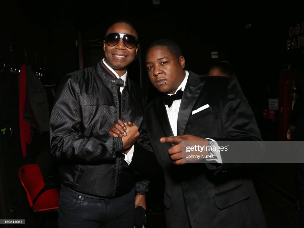 Doug E. Fresh and Jadakiss attend The Hip-Hop Inaugural Ball II at Harman Center for the Arts on January 20, 2013 in Washington, DC.