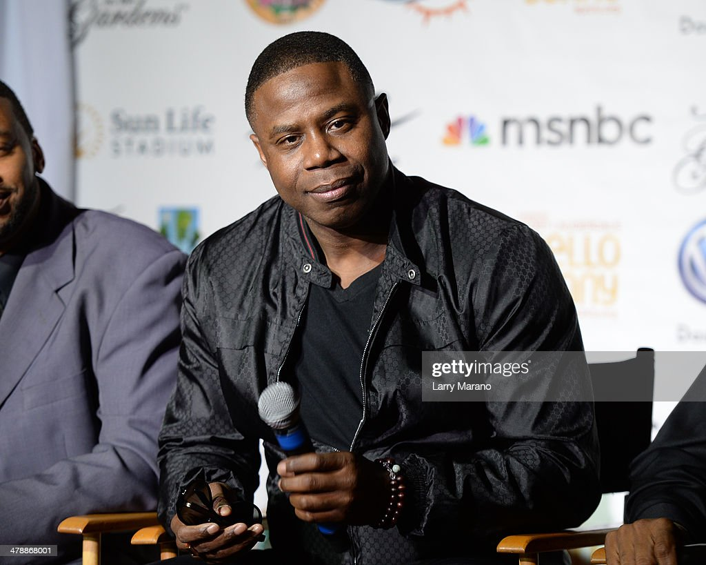 <a gi-track='captionPersonalityLinkClicked' href=/galleries/search?phrase=Doug+E.+Fresh&family=editorial&specificpeople=207004 ng-click='$event.stopPropagation()'>Doug E. Fresh</a> attends Jazz In The Gardens press conference on March 14, 2014 in Hollywood, Florida.