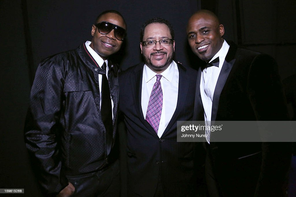 <a gi-track='captionPersonalityLinkClicked' href=/galleries/search?phrase=Doug+E.+Fresh&family=editorial&specificpeople=207004 ng-click='$event.stopPropagation()'>Doug E. Fresh</a>, Michael Eric Dyson and <a gi-track='captionPersonalityLinkClicked' href=/galleries/search?phrase=Wayne+Brady+-+Actor&family=editorial&specificpeople=217495 ng-click='$event.stopPropagation()'>Wayne Brady</a> attend The Hip-Hop Inaugural Ball II at Harman Center for the Arts on January 20, 2013 in Washington, DC.