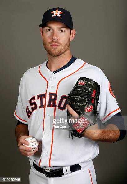 Doug Fister of the Houston Astros poses on photo day at Osceola County Stadium on February 24 2016 in Kissimmee Florida