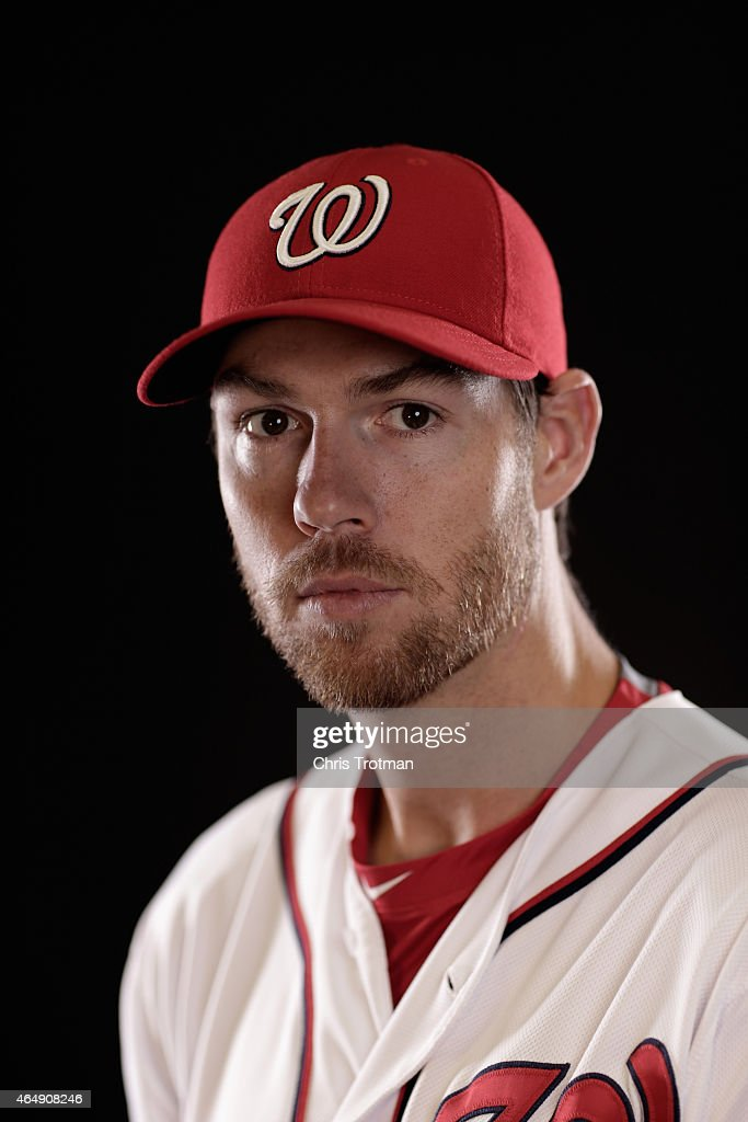 <a gi-track='captionPersonalityLinkClicked' href=/galleries/search?phrase=Doug+Fister&family=editorial&specificpeople=6144840 ng-click='$event.stopPropagation()'>Doug Fister</a> #58 of the Washington Nationals poses for a portrait during photo day at Space Coast Stadium on March 1, 2015 in Viera, Florida.