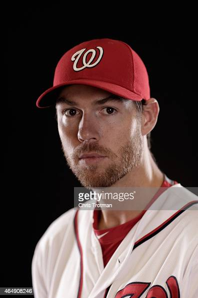 Doug Fister of the Washington Nationals poses for a portrait during photo day at Space Coast Stadium on March 1 2015 in Viera Florida