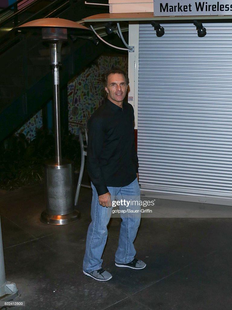 Doug Flutie is seen on April 18 2016 in Los Angeles California