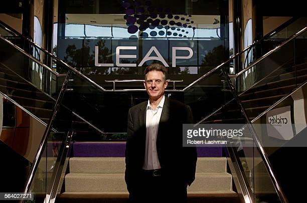 Doug Hutcheson president and chief executive officer of Leap Wireless International is photographed at his facility in San Diego on November 21 2006...