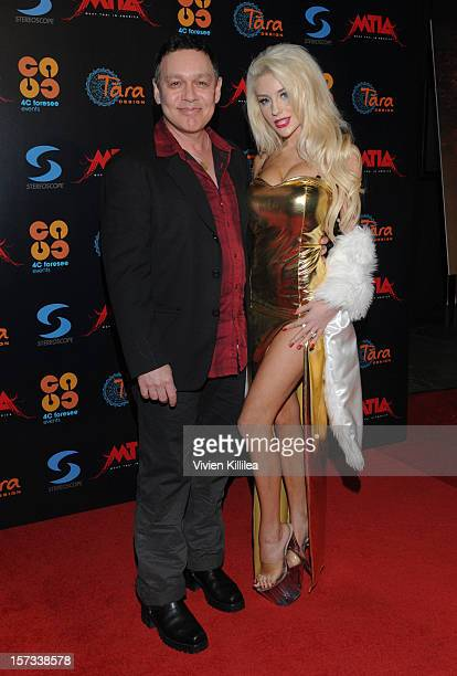 Doug Hutchison and Courtney Stodden attend Muay Thai in America In Honor Of The King at Raleigh Studios on December 1 2012 in Playa Vista California