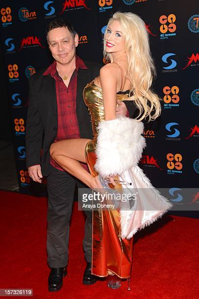 Doug Hutchison and Courtney Stodden attend the Muay Thai in America In Honor Of The King Celebrity VIP Event at Raleigh Studios on December 1 2012 in...