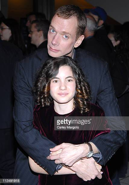 Doug Jones and Ivana Baquero during The 44th New York Film Festival 'Pan's Labyrinth' Premiere at Avery Fisher Hall Lincoln Center in New York City...