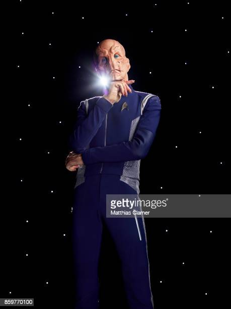Doug Jones from Star Trek Discovery is photographed for Entertainment Weekly Magazine on July 9 2017 in Los Angeles California PUBLISHED IMAGE