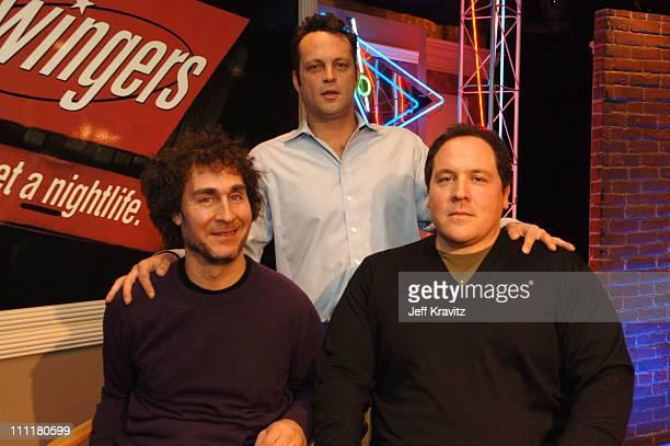 Doug Liman director Vince Vaughn and Jon Favreau writer