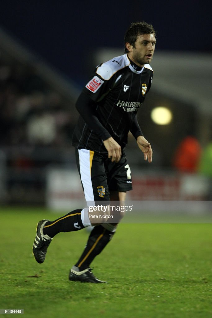 Doug Loft of Port Vale in action during the Coca Cola League Two Match between Northampton Town and Port Vale at Sixfields Stadium on December 12, 2009 in Northampton, England.