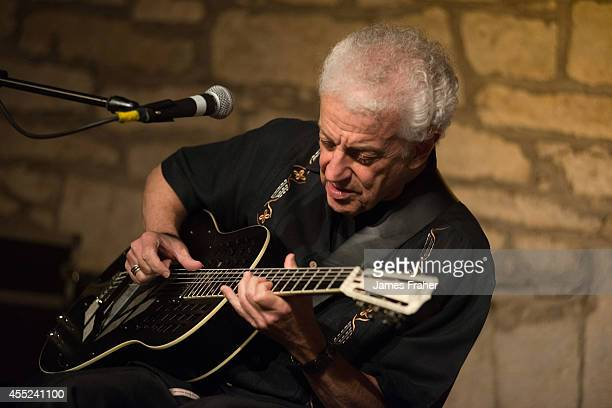 Doug MacLeod performs on stage for Harvest Time Blues Festival at The Market House on September 6 2014 in Monaghan Ireland